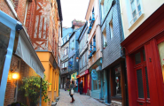 Honfleur old streets